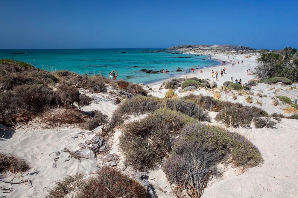 Плаж на остров Елафониси.