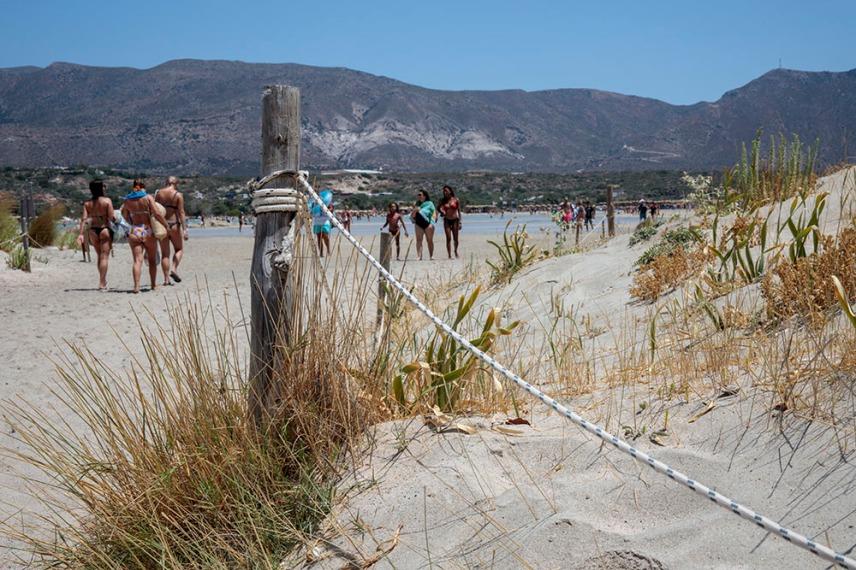 Остров Елафониси е защитена зона.