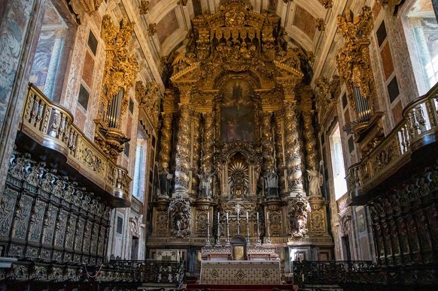 Олтара на катедралата Се.