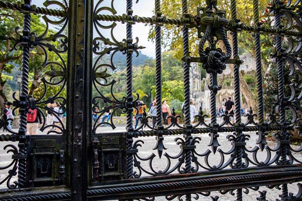 Портата на двореца Кинта да Регалейра.