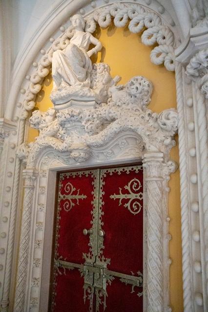 В двореца Кинта да Регалейра.