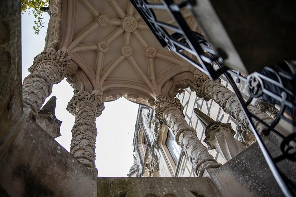 Детайли от двореца Кинта да Регалейра.