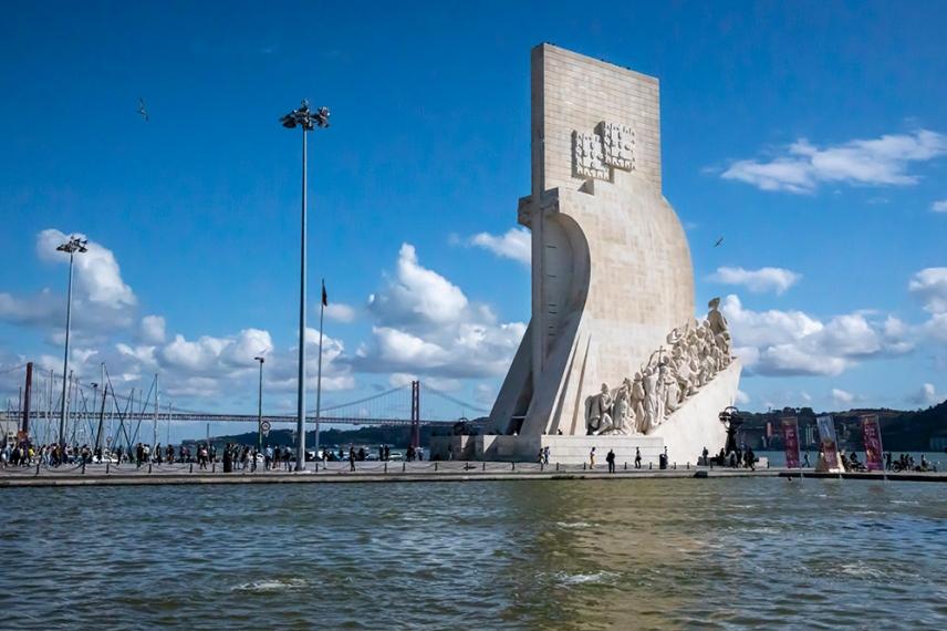 Паметника на Откритията, посветен на португалците участвали във Великите географски открития през 15-16 век.
