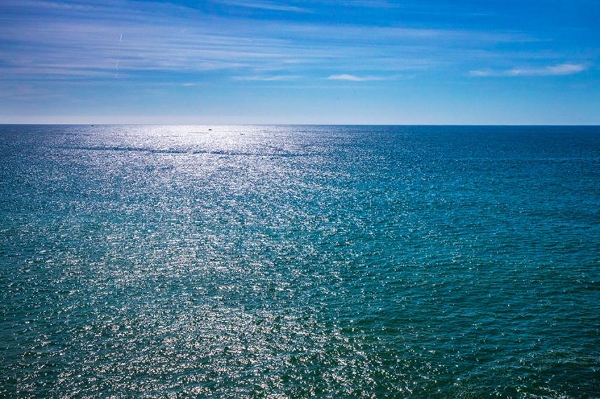 Атлантическия океан.