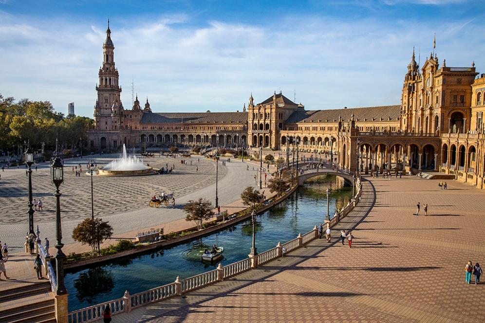 Площад Испания.
