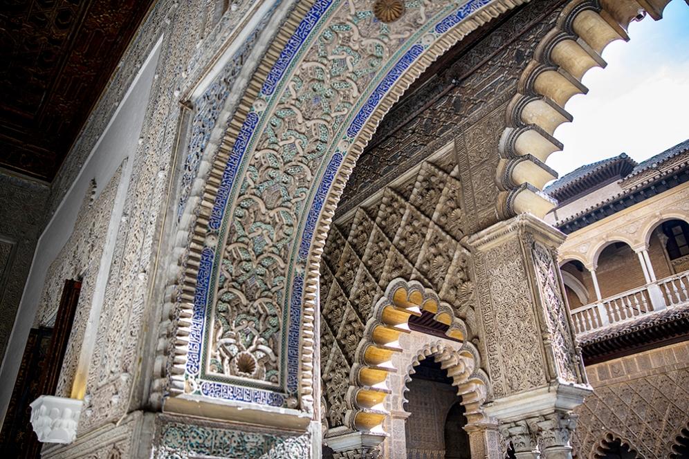 Двореца Алказар.