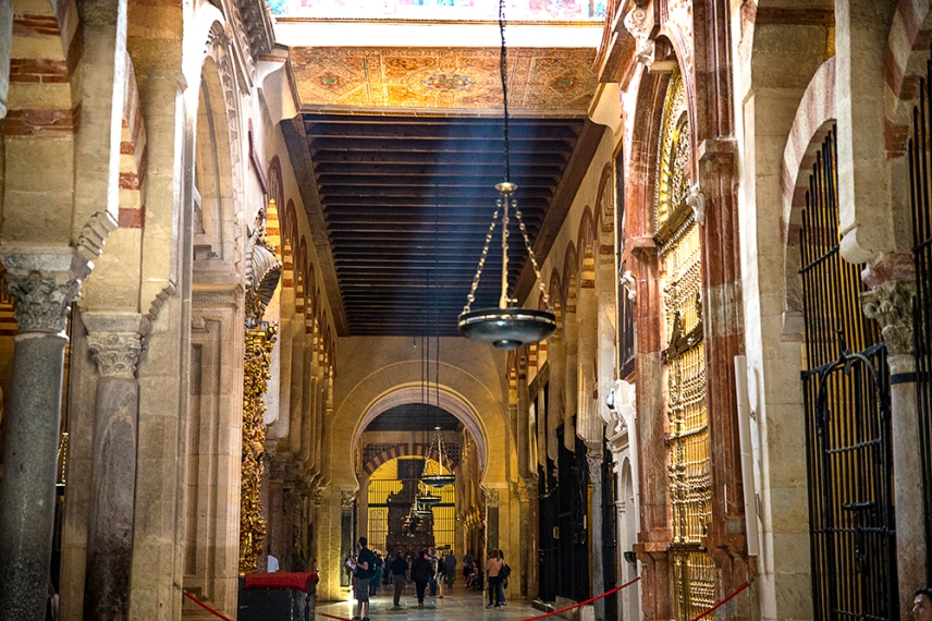 В катедралата Мескита.