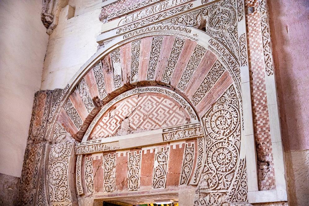 Детайли от времето, когато Мескита е била джамия.