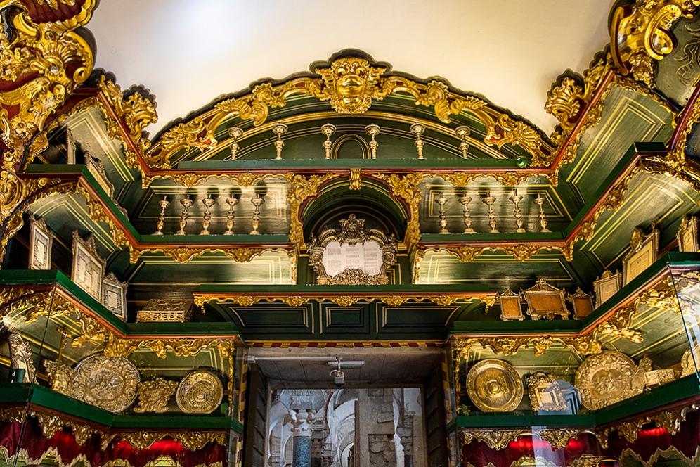 Стая със съкровища в катедралата Мескита.