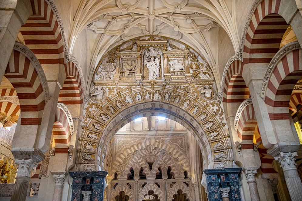 Смесица между ислямска и християнска архитектура.
