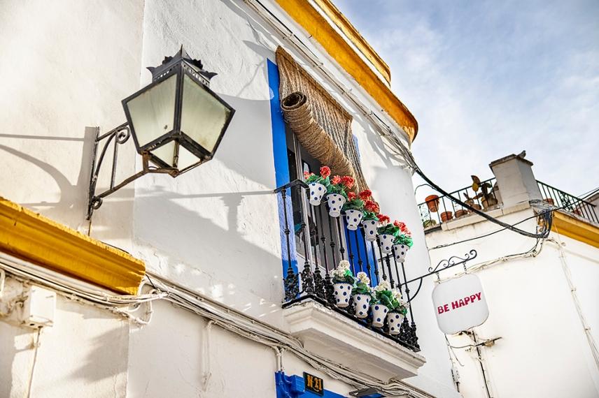 В историческия център по улиците на Кордоба.