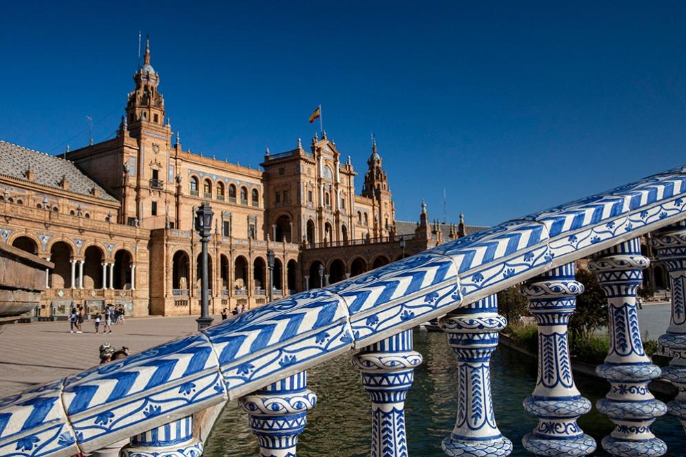 Площад Испания, Севиля.