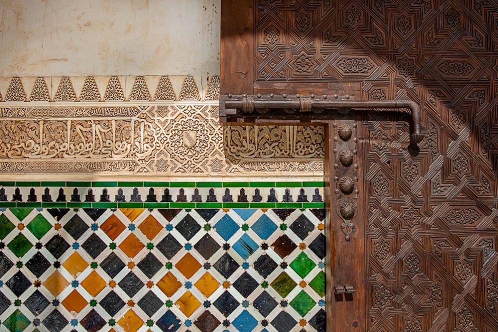 Детайли от двореца Комарес.