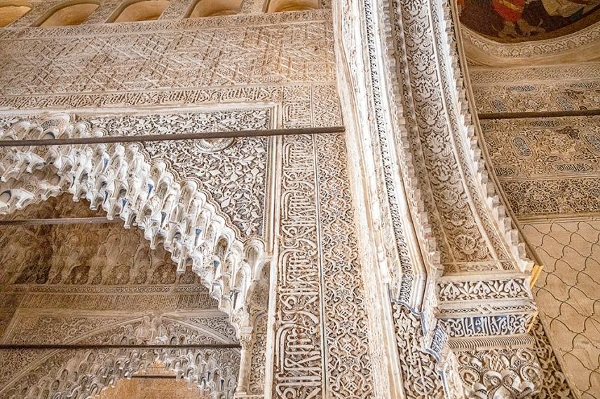 Декорацията в Залата на кралете.