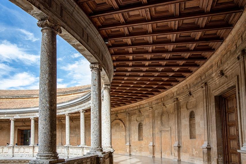 Терасата на Двореца Карл V.