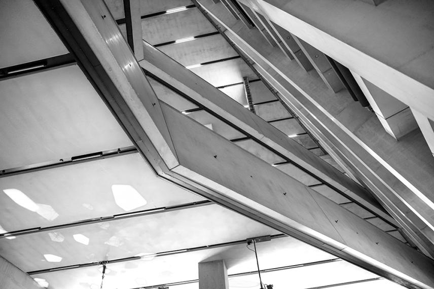 Архитектурата на сграда Блаватник.