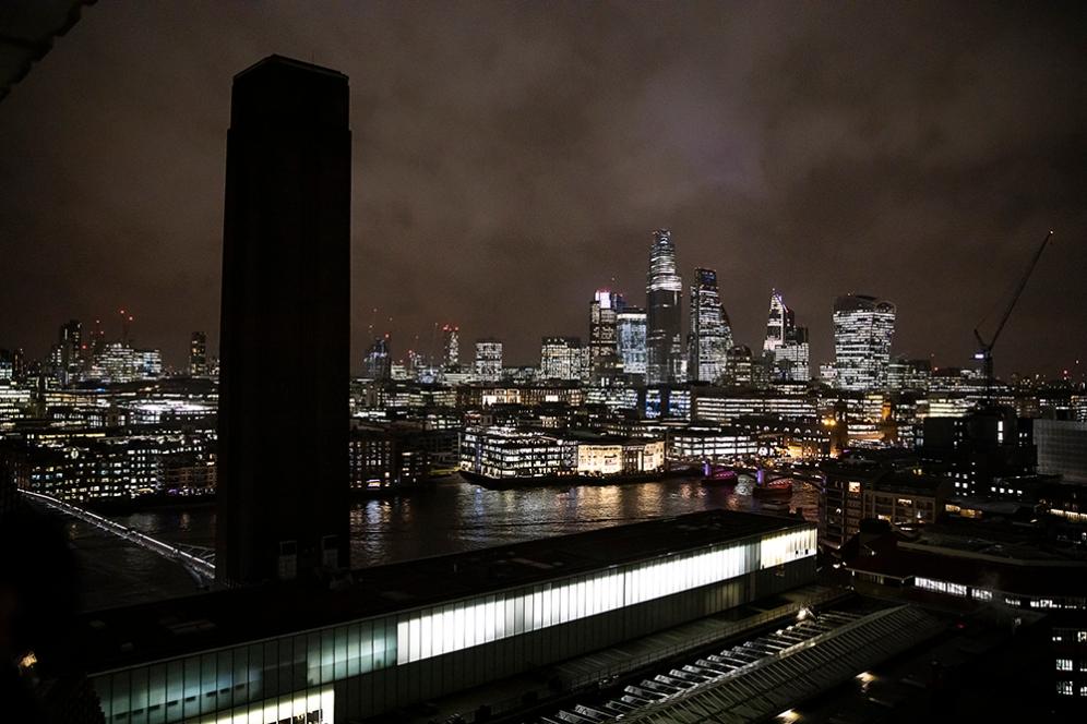 Гледката към Лондонското сити.