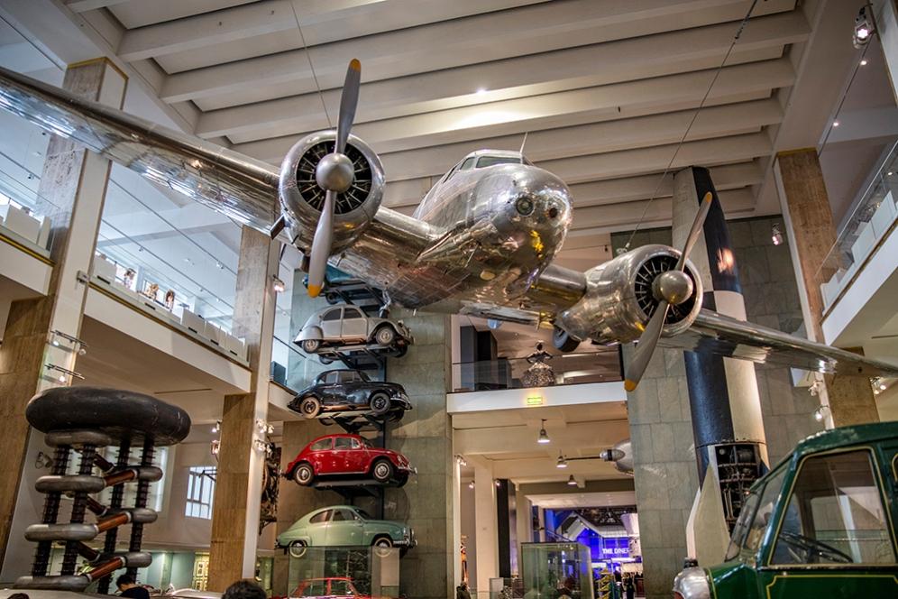В музея на науката, Лондон.