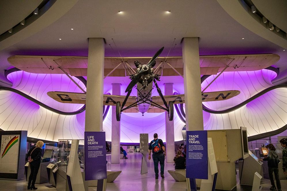 Самолета на Handley Page в галерия Уинтън на музея на науката.