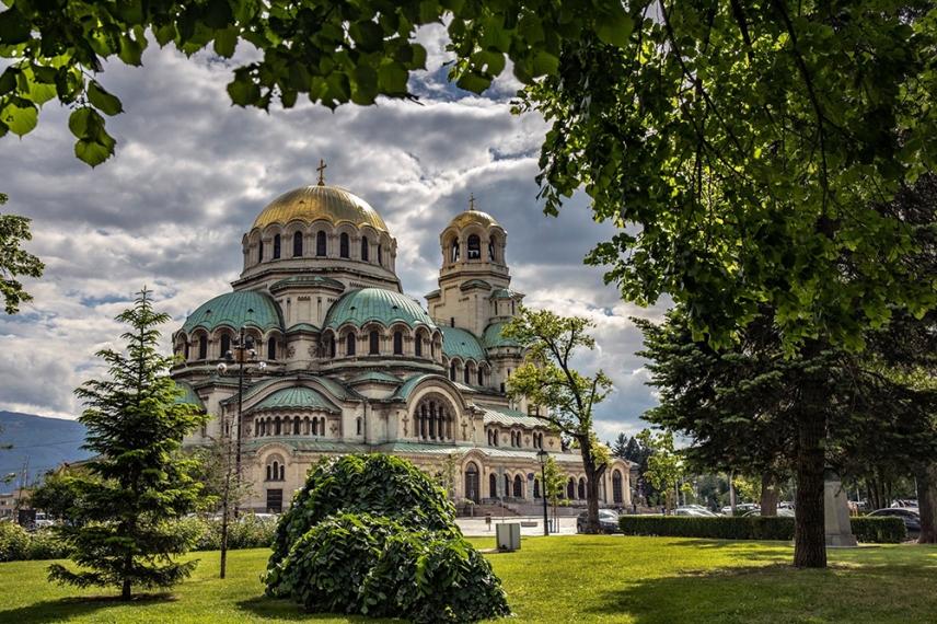 Катедралата Свети Александър Невски.