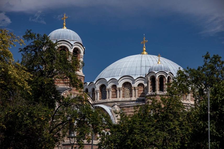 Църквата Свети Седмочисленици.