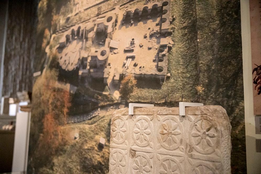 Плоча от Велики Преслав.