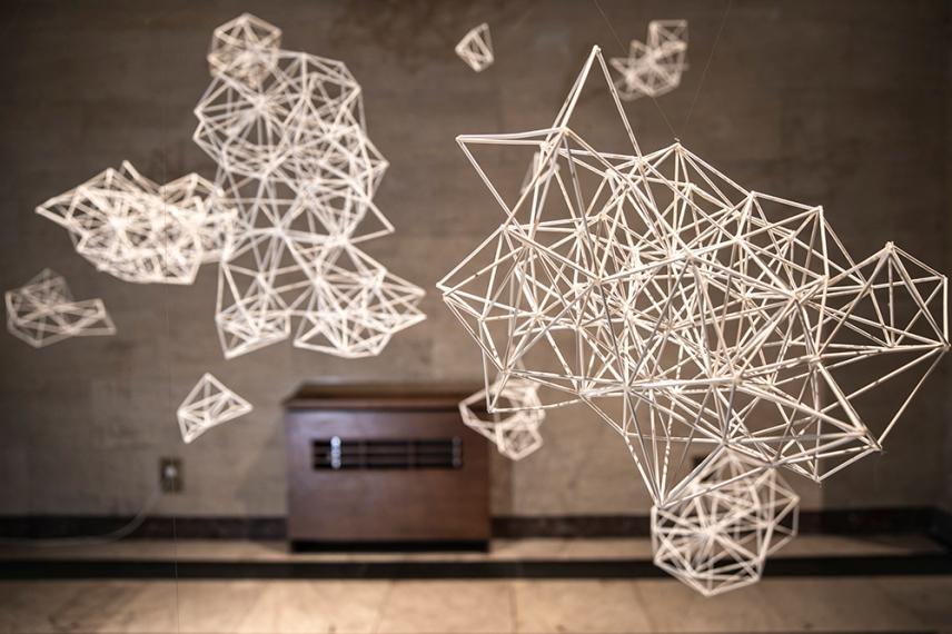 Живи структори 2019 - Верена Фридрих, хартиена инсталация