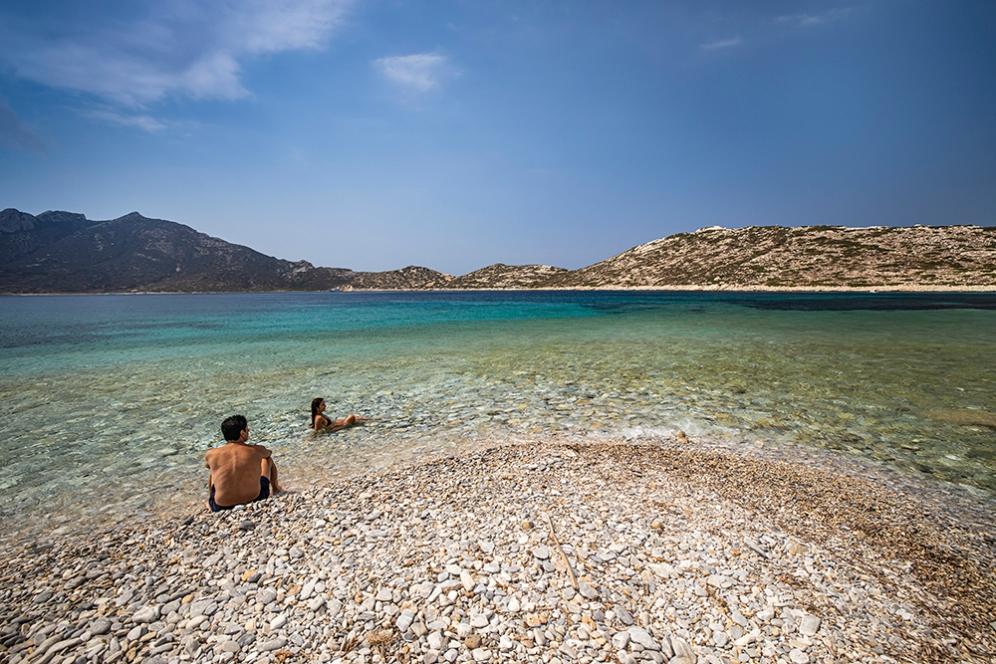 Плажът Агиос Павлос