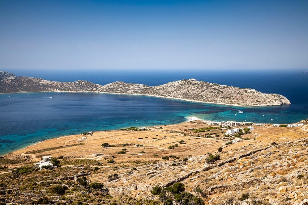 Остров Никурия и плажа Агиос Павлос