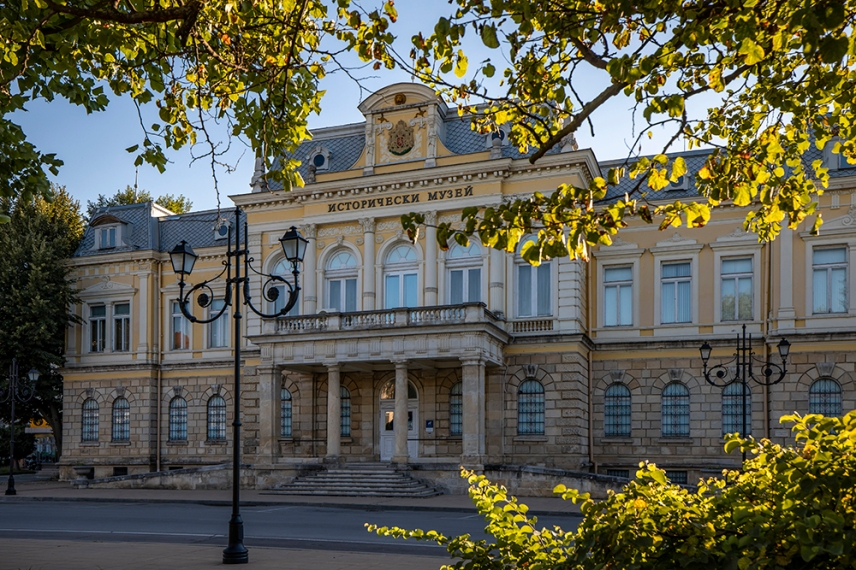 Историческия музей в двореца Батенберг.