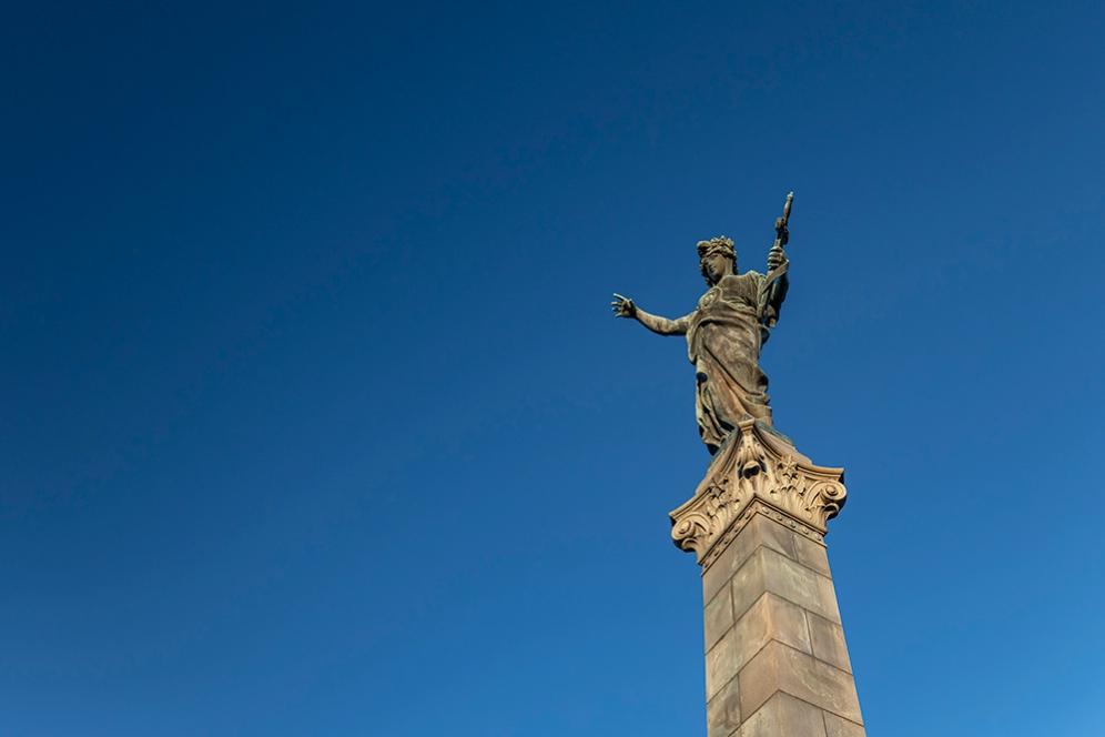 Паметника на Свободата.