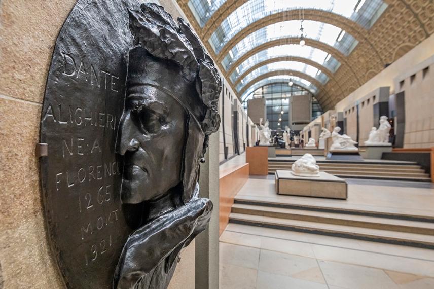 Данте Алигери в музея Орсе.