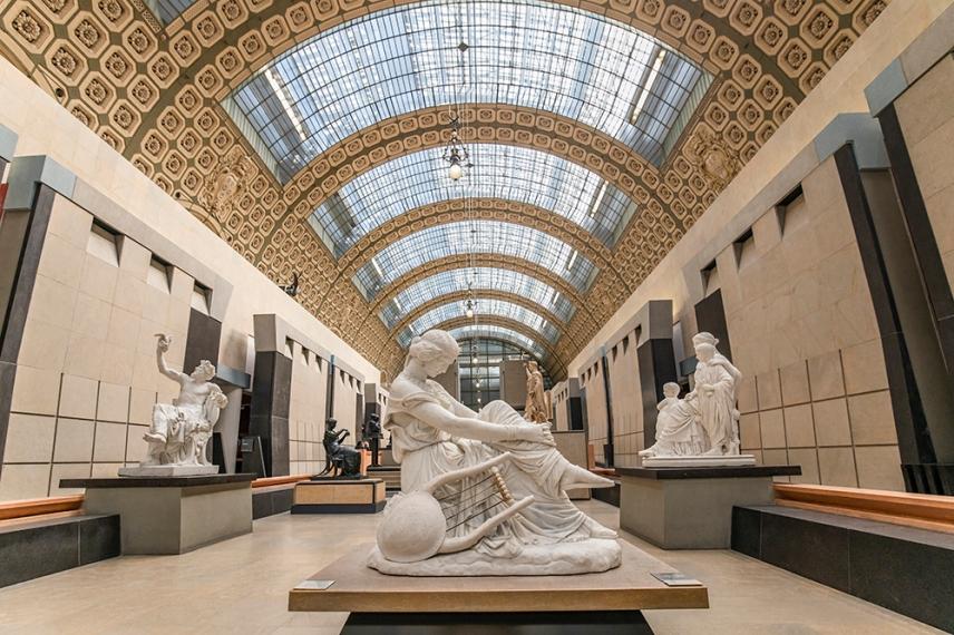 Сафо на Джеймс Прадие - музея Орсе.