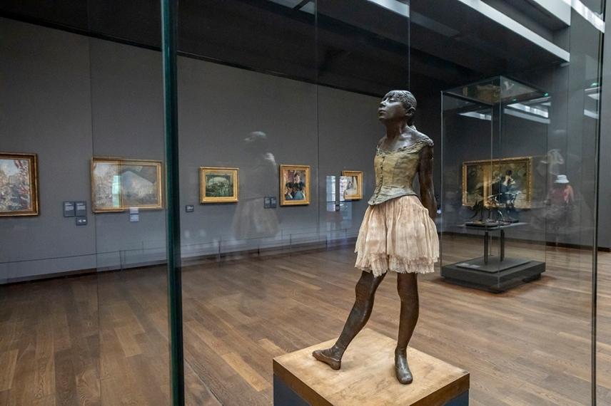 Малката танцьорка - Едгар Дега - музея Орсе.
