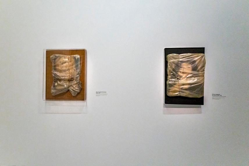 Опакования портрет на Жан-Клод 1963 - Кристо.