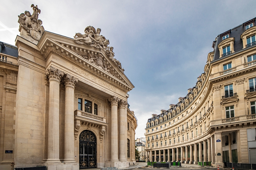 Фондова борса, колекция Пино, Париж.
