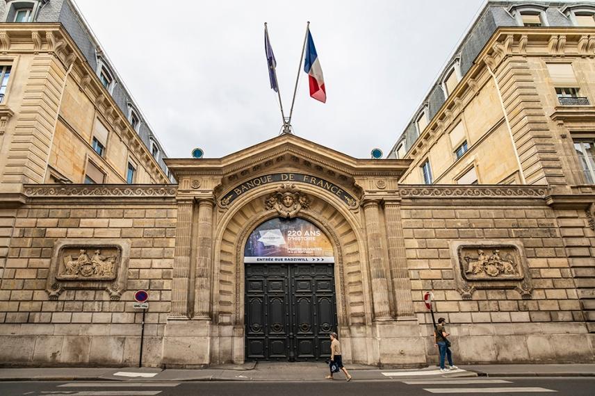 Националната банка на Франция.