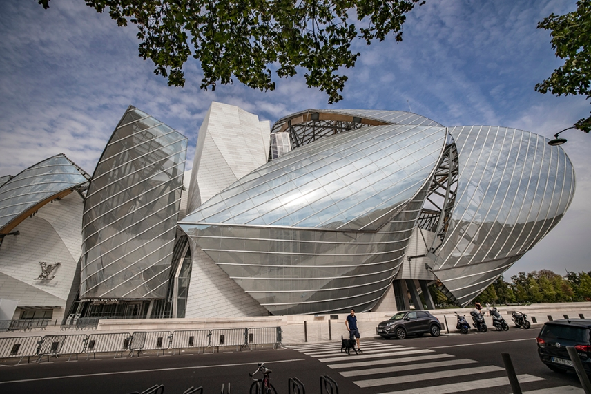 Фондация Луи Вюитон, Париж.