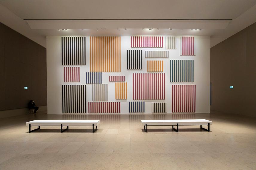 В музея за модерното изкуство, Париж.