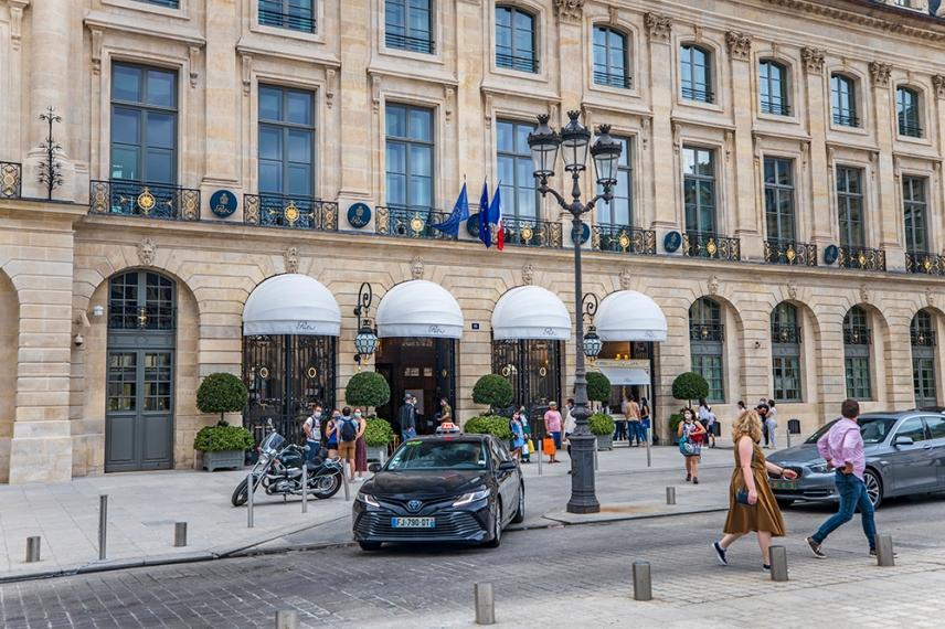 Хотел Риц, площад Вандом, Париж.