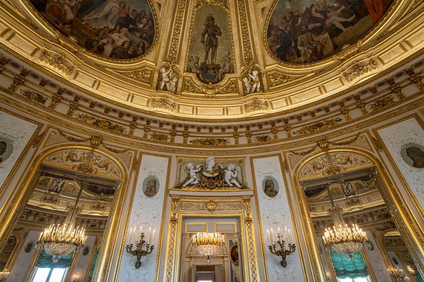 Зала Ротонда в двореца на почетния легион, Париж.