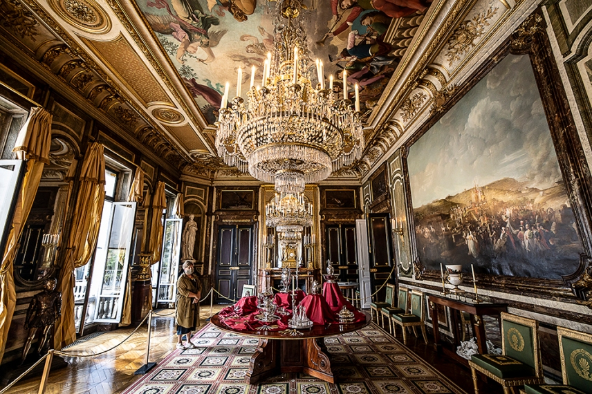 Трапезарията в двореца на почетния легион, Париж.