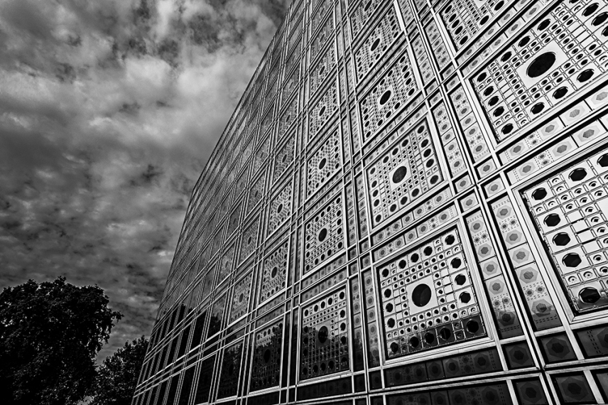 Институтът на арабския свят, Париж.