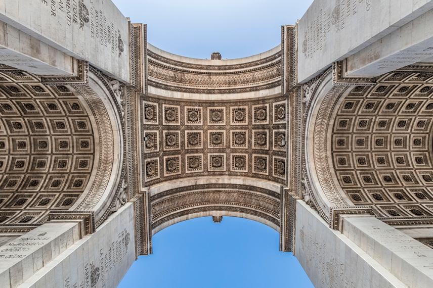 Триумфалната арка, Париж.