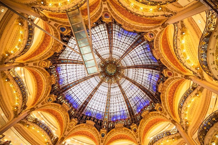 Galeries Lafayette, Париж.